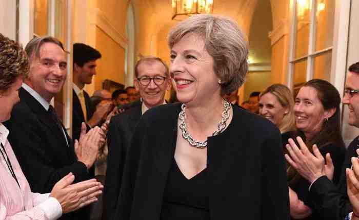 Theresa will tame thetrolls